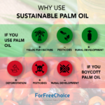 Why use sustainable palm oil