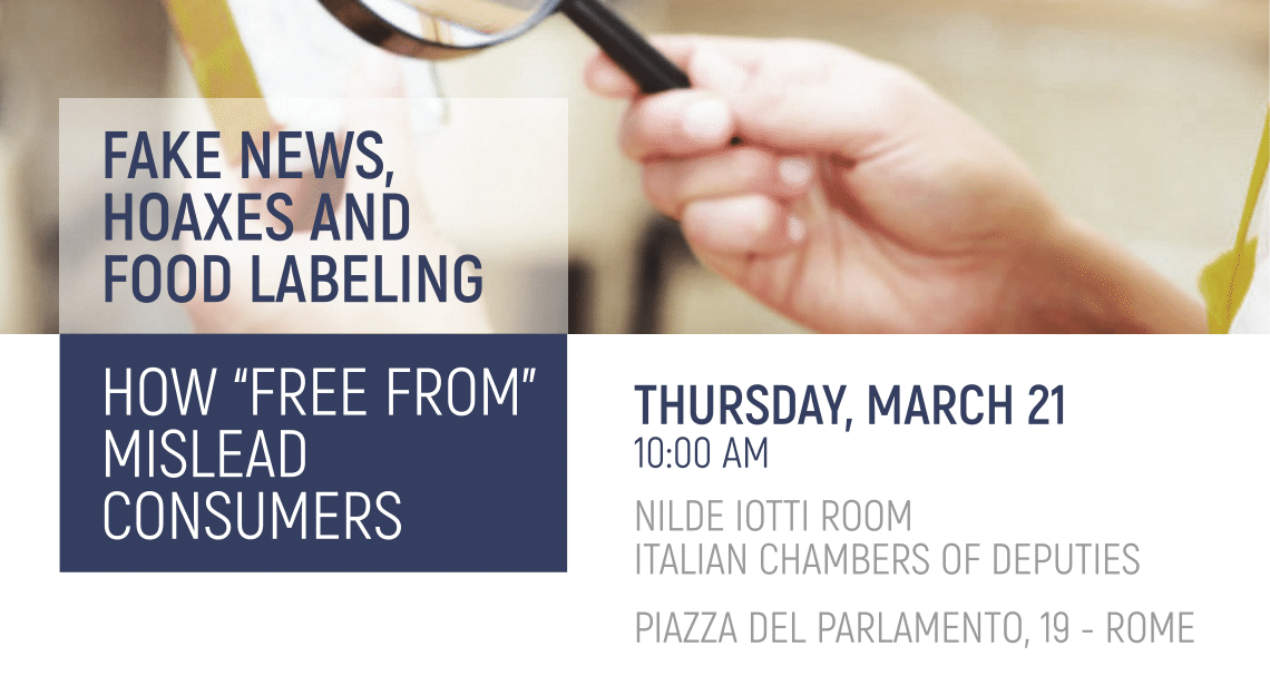 Save the Date: March 21 - Fake News, Hoaxes and Food Labeling